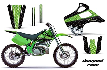 Amazoncom Kawasaki Kx125 Kx250 1992 1993 Mx Dirt Bike Graphic Kit