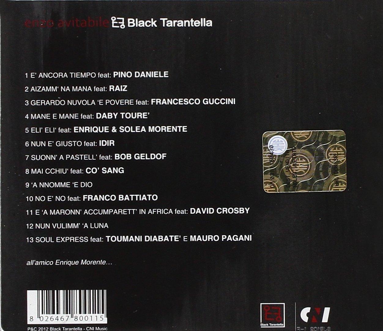 enzo avitabile black tarantella mp3