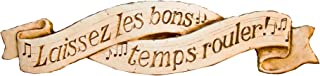 product image for Piazza Pisano Laissez les bons French Let The Good Times Roll Music Wall Decor Plaque