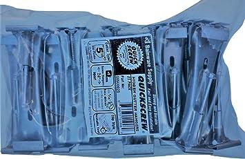 """US ALUM 6/"""" GUTTER HANGER SUPREME W//CLIP 25 PIECES PER BOX"""
