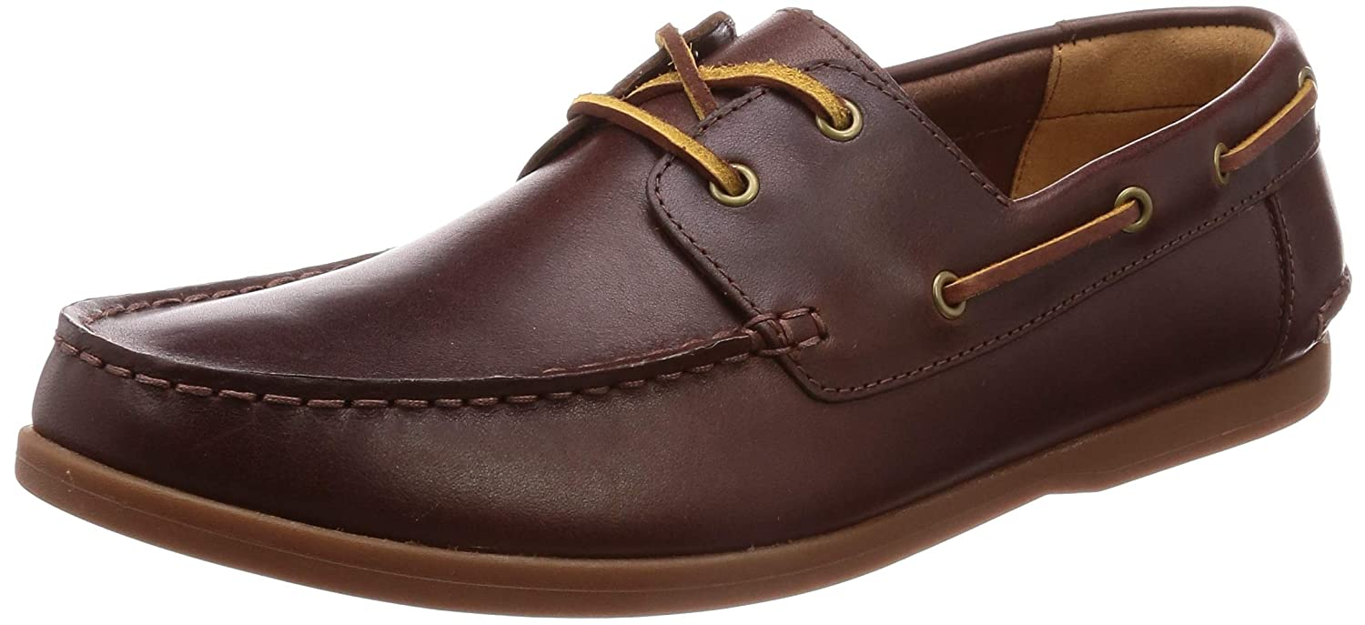 various kinds of search for genuine luxury fashion Amazon.com | CLARKS Morven Sail Shoes 8 D(M) US British Tan ...