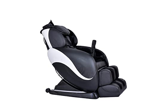 Amazon.com: MCombo Electric Full Body Shiatsu Massage Chair Recliner W/Heat  Stretched Foot Rest 6160 0008 (Black And CremeWhite): Health U0026 Personal Care