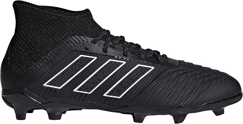 adidas Unisex Kinder Predator 18.1 Fg Fußballschuhe, Schwarz, Weiß, Rot