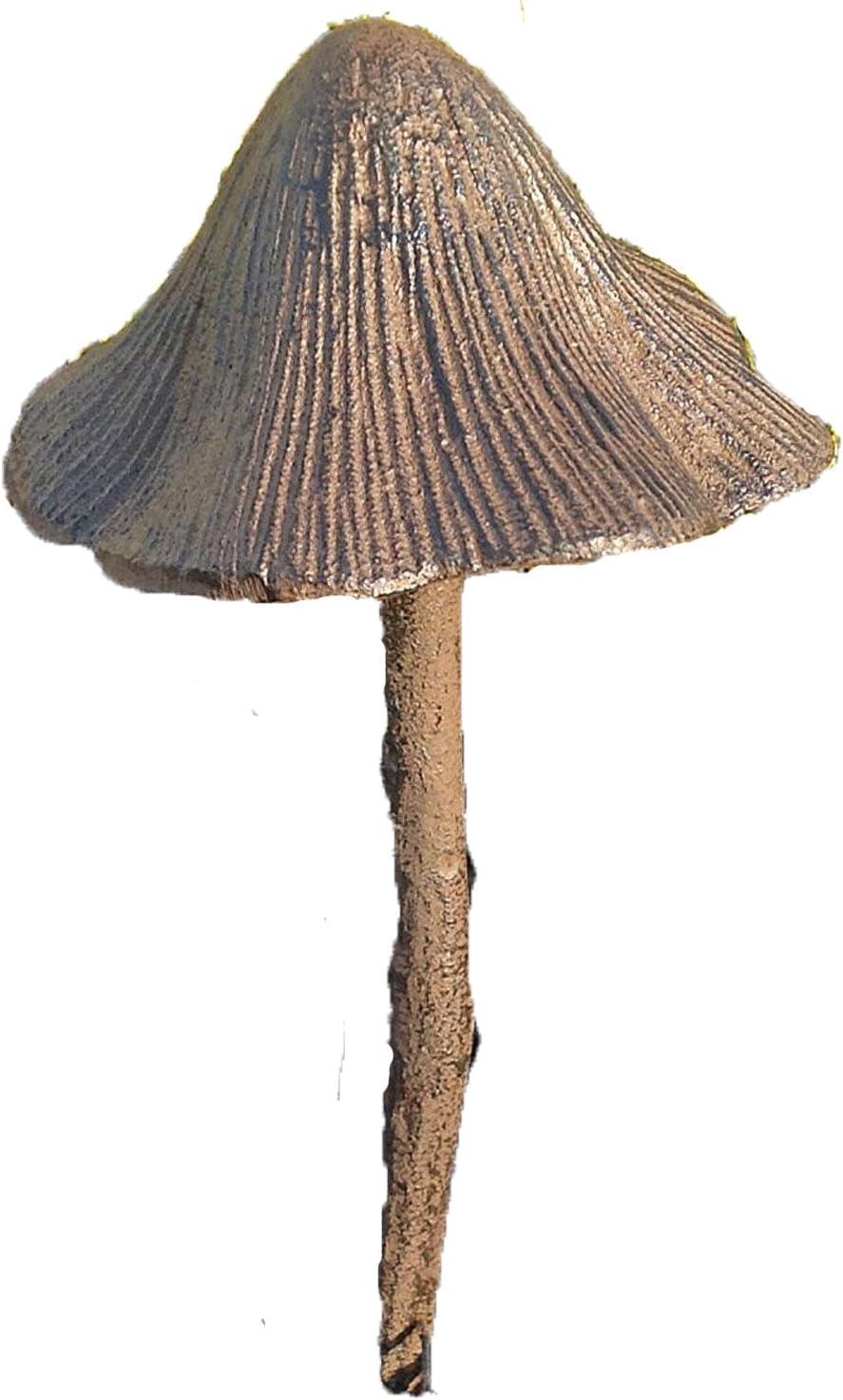 "Solid Aluminum Mushroom Hose Guide Garden Stake Tall 20"""