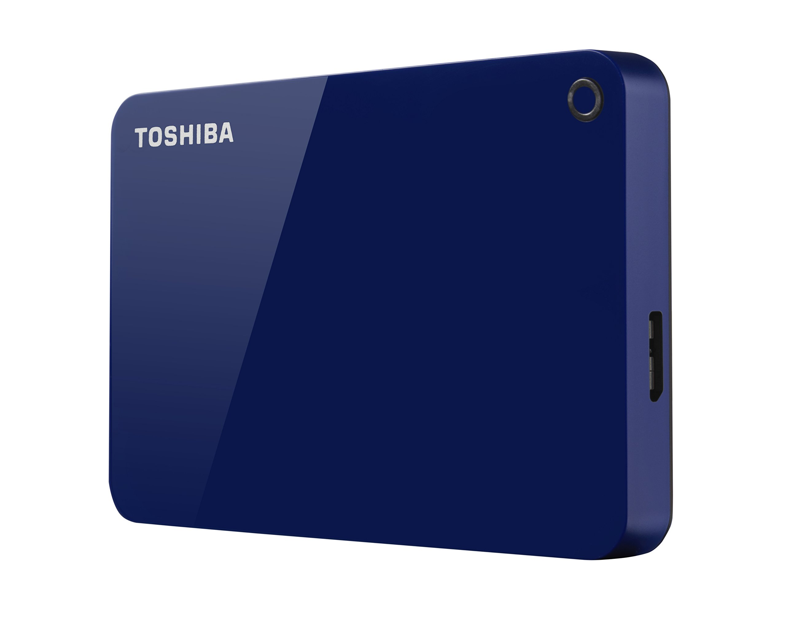 Toshiba Canvio Advance 1TB Portable External Hard Drive USB 3.0, Blue (HDTC910XL3AA) by Toshiba (Image #3)