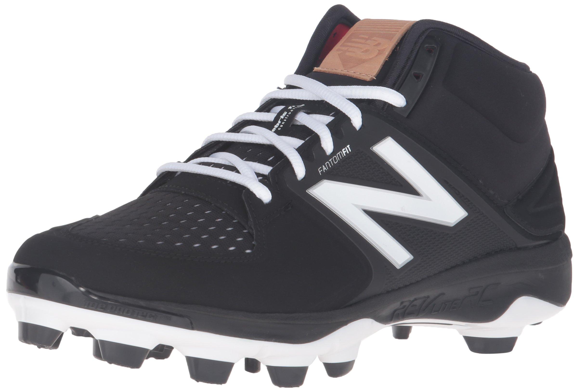 New Balance Men's PM3000V3 Baseball Shoe, Black/Black, 9 D US by New Balance