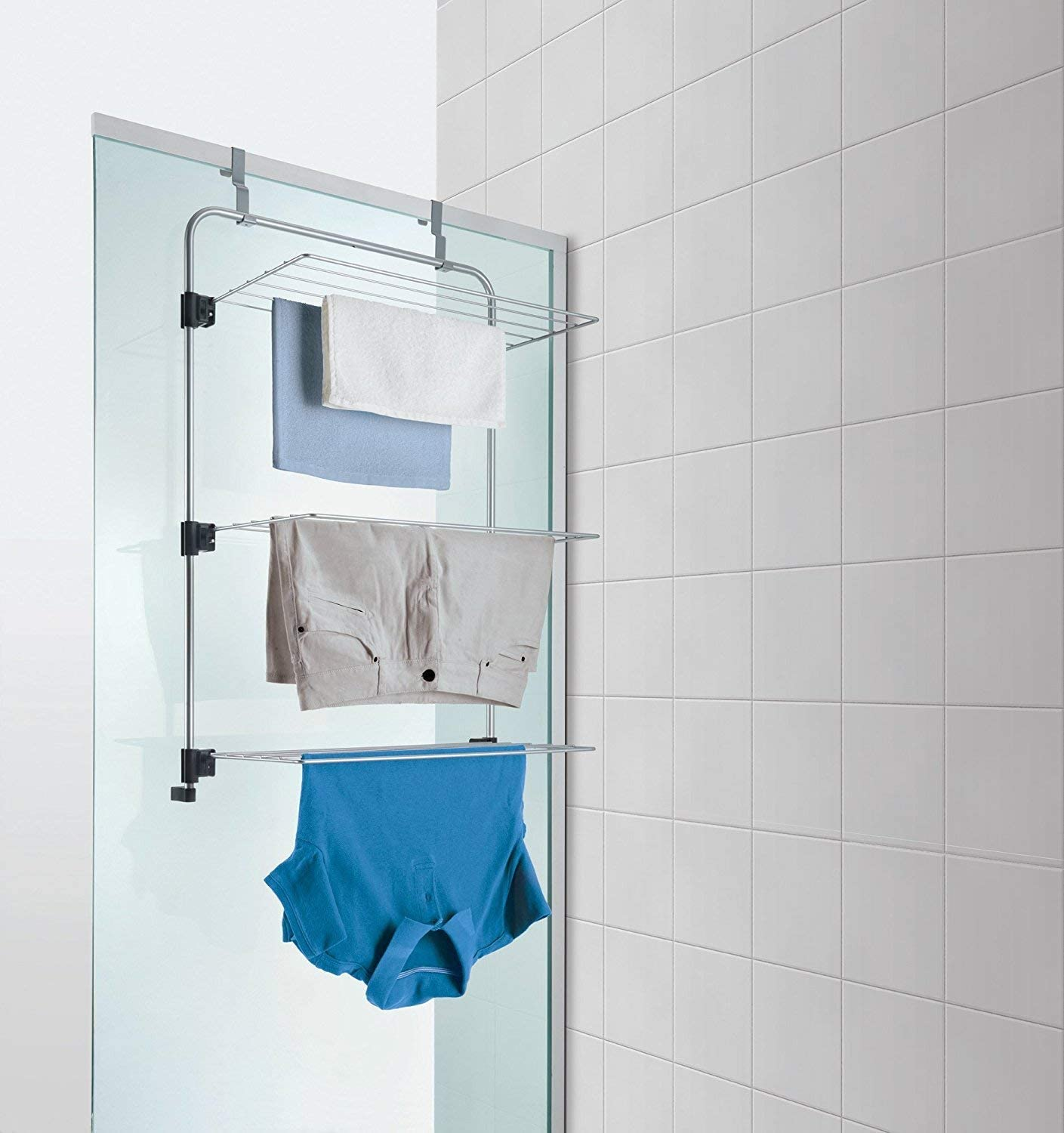 Metaltex Gale Shower Cabin-Dryer with approximately 11 M Drying Length//Tumble Dryer