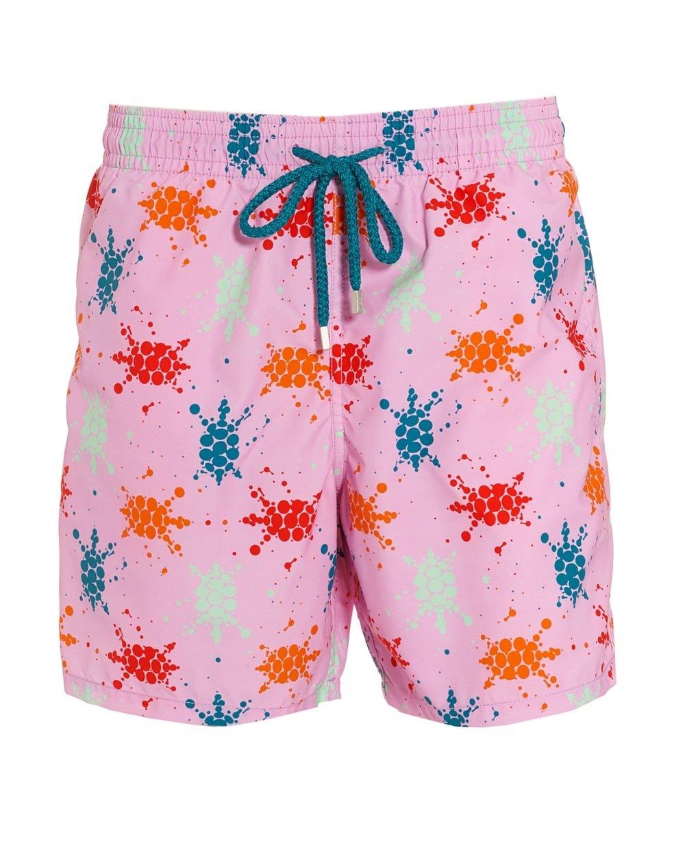 Vilebrequin - Japan Turtles Moorea Swimwear - Men - XXL - Rose Quartz by Vilebrequin (Image #1)