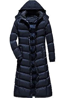 U2Wear Women s Water Resistance Puffer Winter Full Length Coat With Hood 178d8a3ed