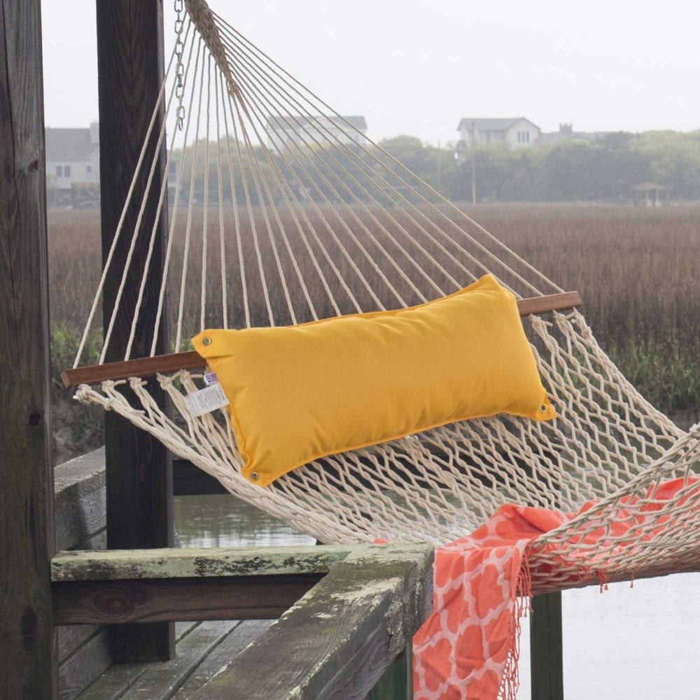 Hatteras Hammocks Canvas Sunflower Hammock Pillow by Hatteras Hammocks