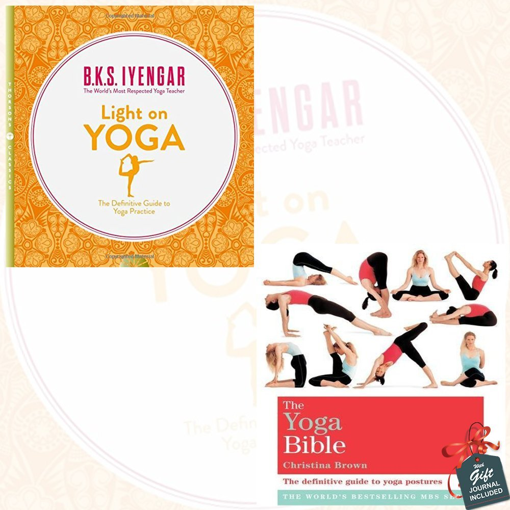 Light on Yoga and The Yoga Bible 2 Books Collection Set ...