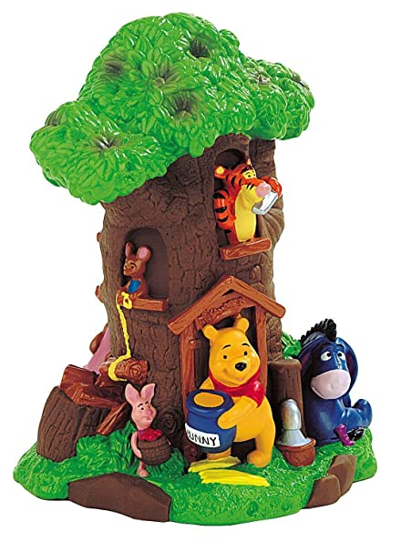 Disney Winnie The Pooh Tigger Piglet Eeyore Roo Birthday Party Bank And Cake Topper Centerpiece For