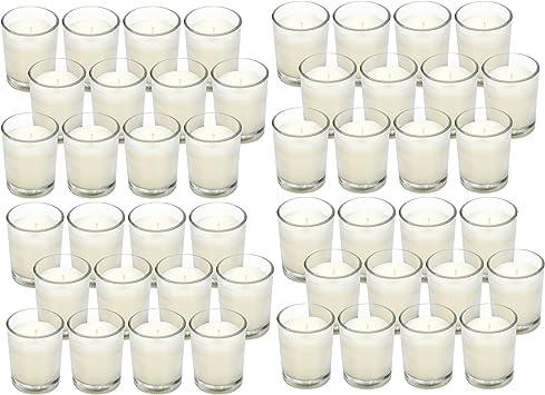 Black Votive Candles Lot of 48 Pieces