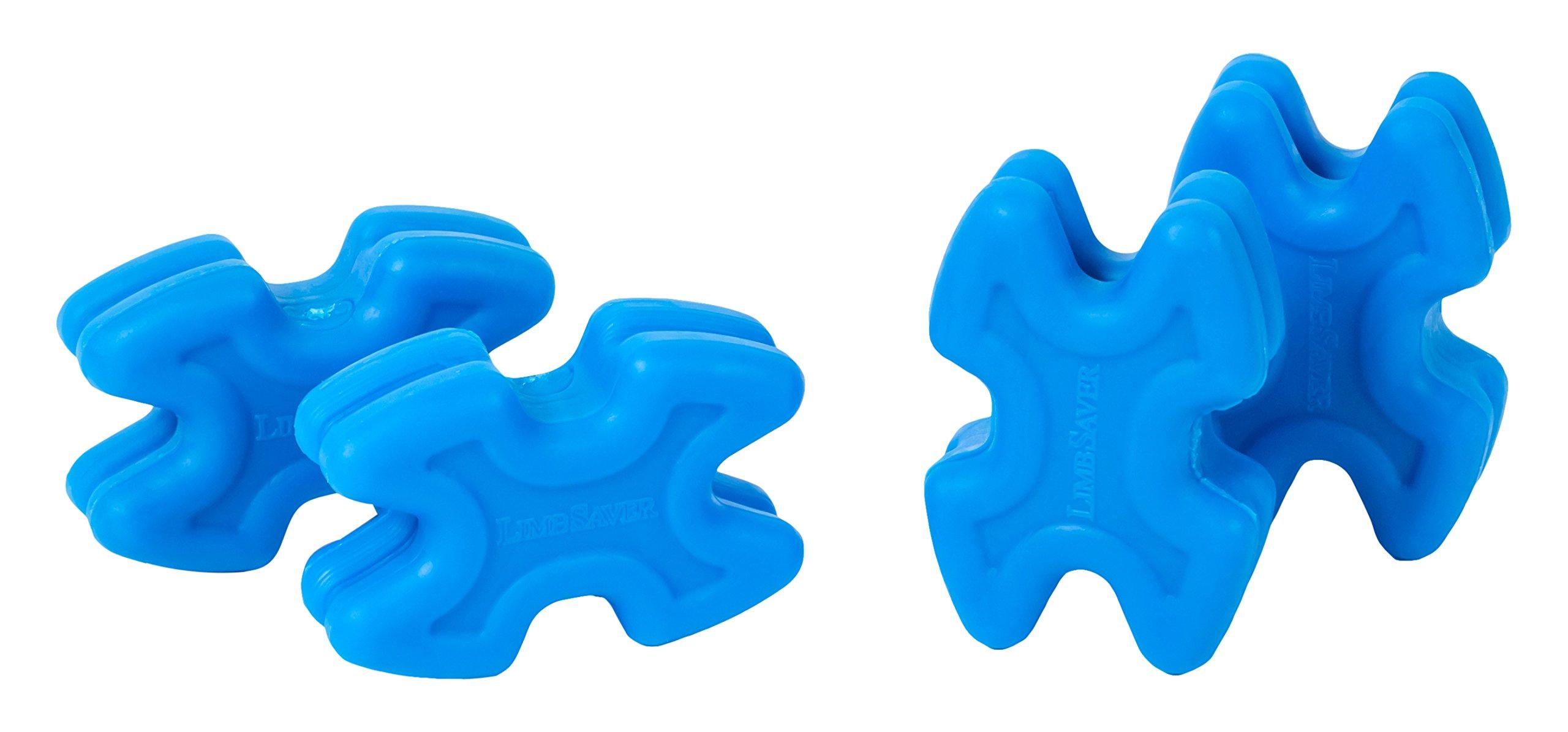 LimbSaver 4722 TwistLox Dampener for Split Limb Bows, Blue