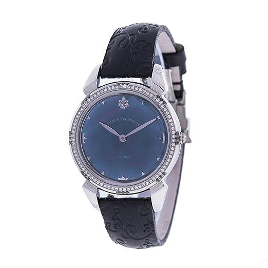 Cuervo Y Sobrinos 3112 - Reloj para Mujeres Color Negro: Amazon.es: Relojes