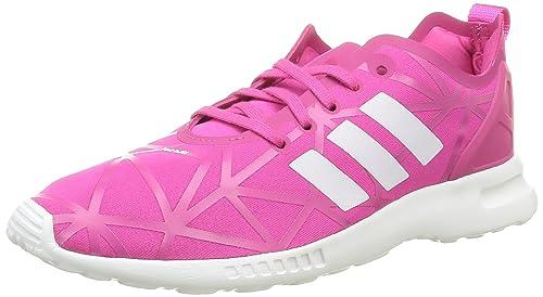Schuh Smooth ADV Flux ZX Schuhe Frauen schwarz adidas