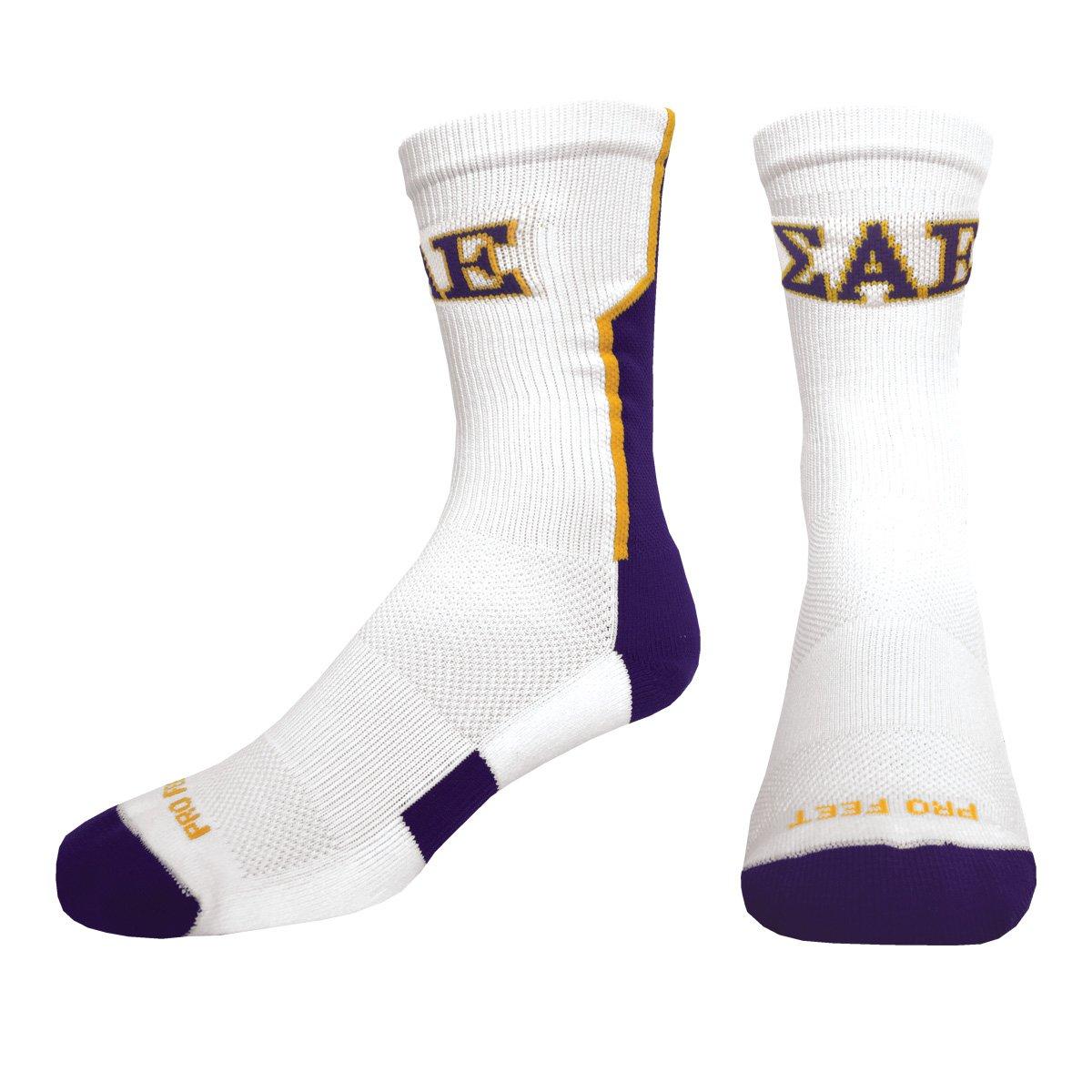 SAE White Performance Socks