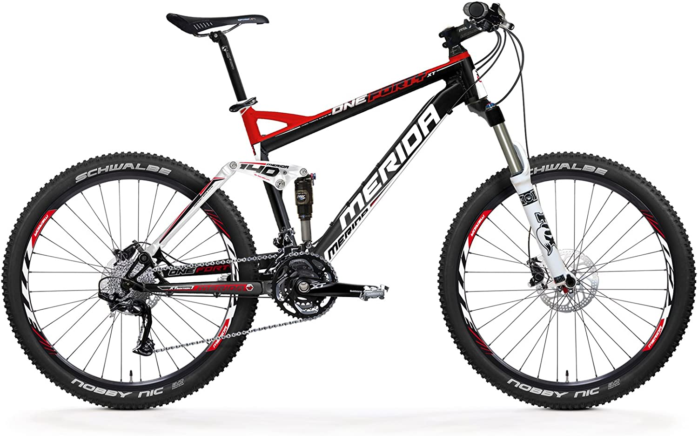 Merida 33222117 - Bicicleta de montaña con doble suspensión ...