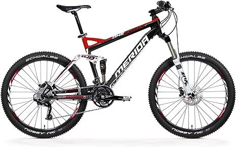 Merida 33222117 - Bicicleta de montaña con doble suspensión: Amazon.es: Deportes y aire libre