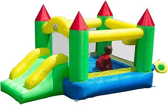 HOMCOM Castillo Hinchable 300x180x160cm Castillos Infantiles Juego ...