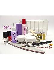 Kit uñas acrilicas, Certificados CPNP, Productos de alta calidad