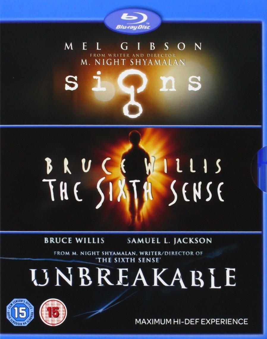 Amazon Com M Night Shyamalan Collection Signs The Sixth Sense Unbreakable Blu Ray Movies Tv