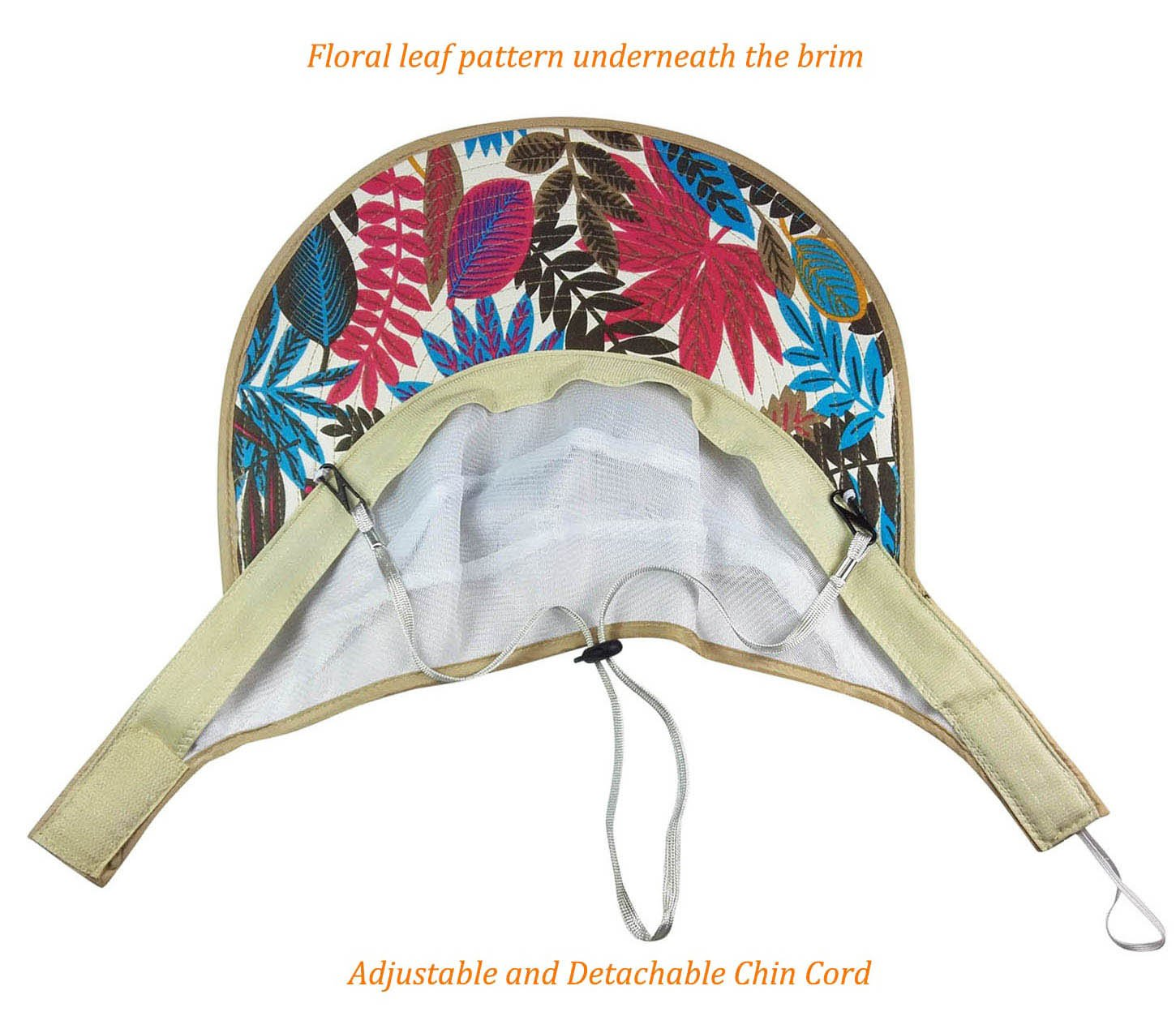 HindaWi Sun Hats for Women Wide Brim UV Protection Visor Floppy Hat Beach Summer Packable Caps by HindaWi (Image #4)