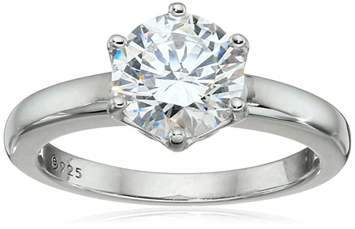 ring platinum engagement cushion rings diamond