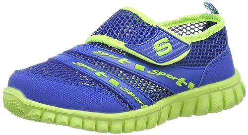 78d9e653ed0 Eagsouni® Unisex-niños Malla Transpirable Velcro/Zapatos del Ocio/Peso  Ligero Transpirables Zapatillas: Amazon.es: Zapatos y complementos