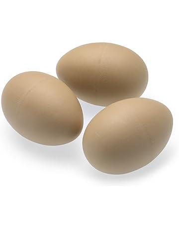 Erzatz Eggs 3 x imitación CHICKEN/POULTRY/HENS HUEVOS - Ponderado para sentirse real