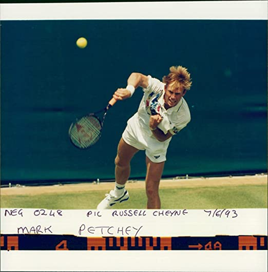 Amazon.com: Vintage photo of Tennis Player Mark Petchey: Entertainment Collectibles