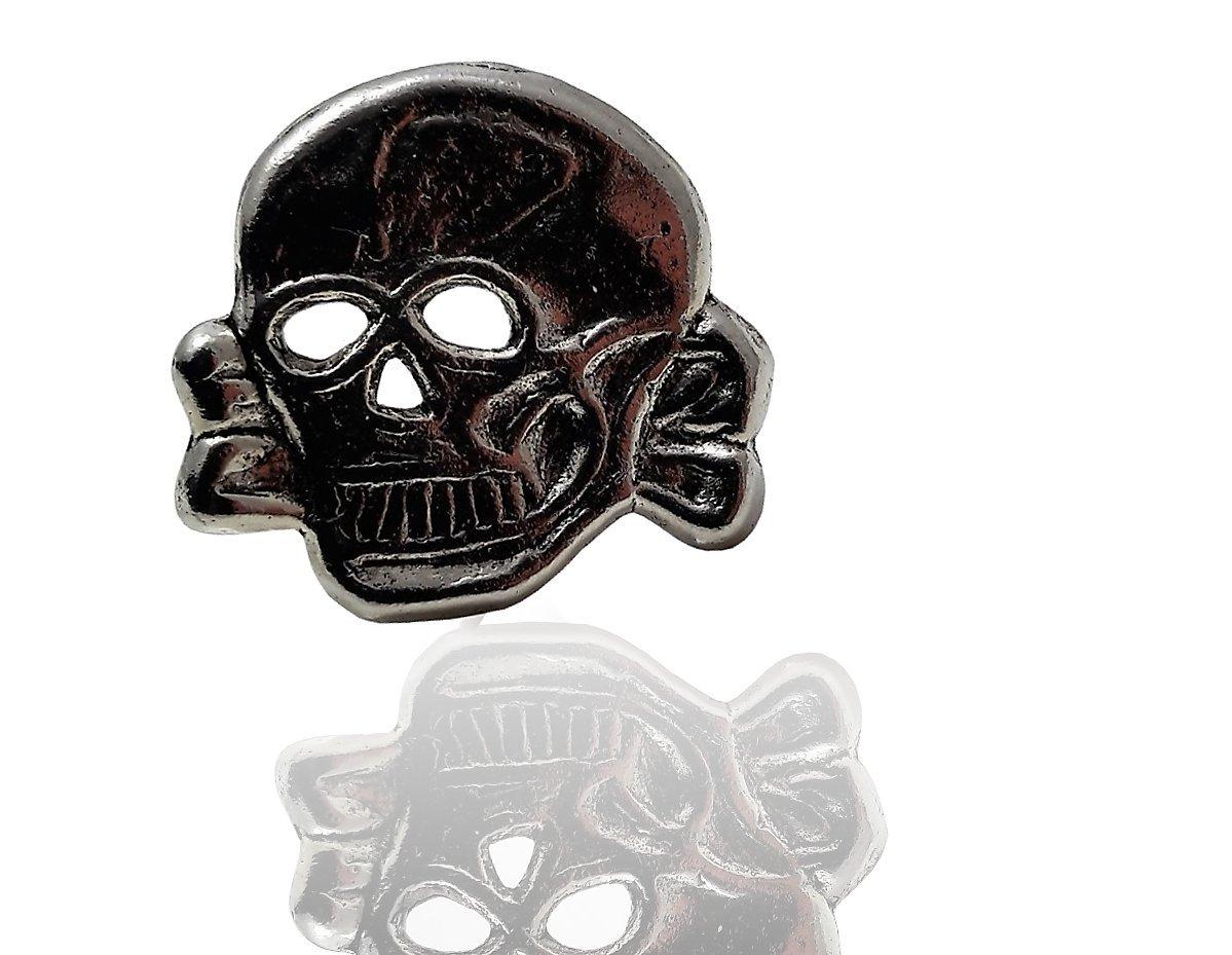 Daywalker Bikestuff T/ête de mort  Pin  Badge  Pin/'s  Broches  Broche de biker