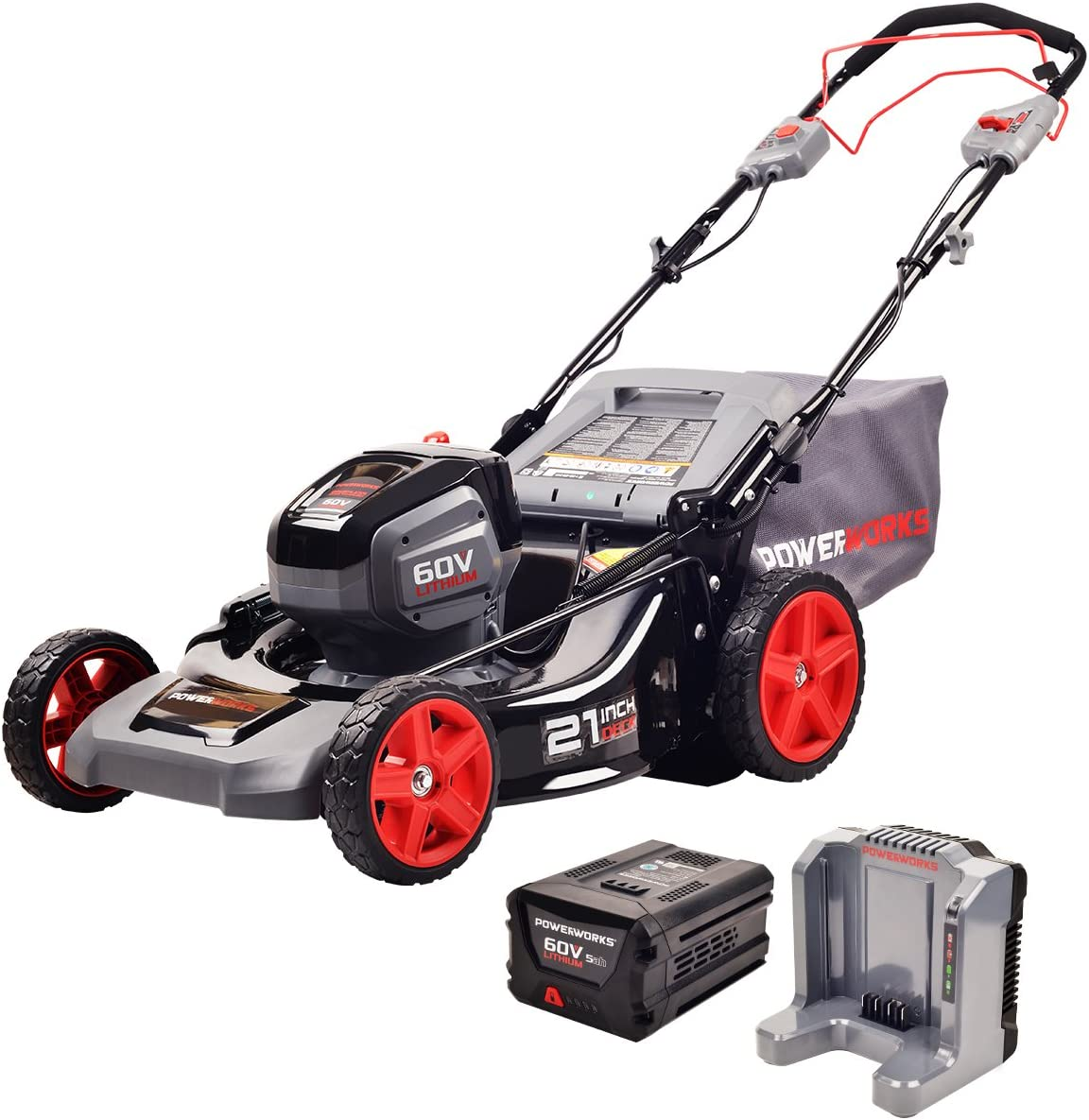 POWERWORKS 60V 21-inches SP Mower, MO60L512PW