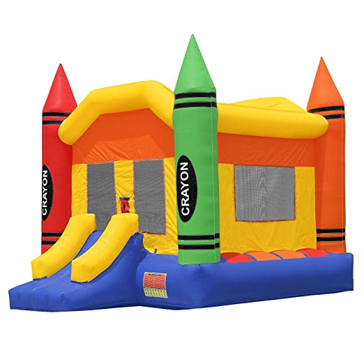 Amazon.com: HQ Bounce Casa 100% Crayon de PVC Castillo de ...