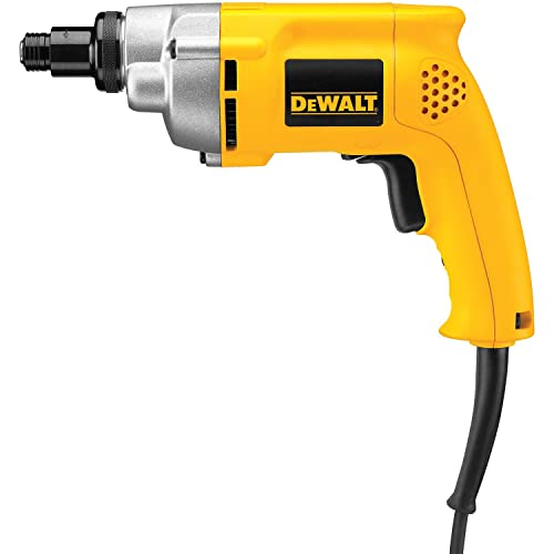 DEWALT Screw Gun, Variable-Speed Reversible, Positive Clutch, 6.5-Amp DW281