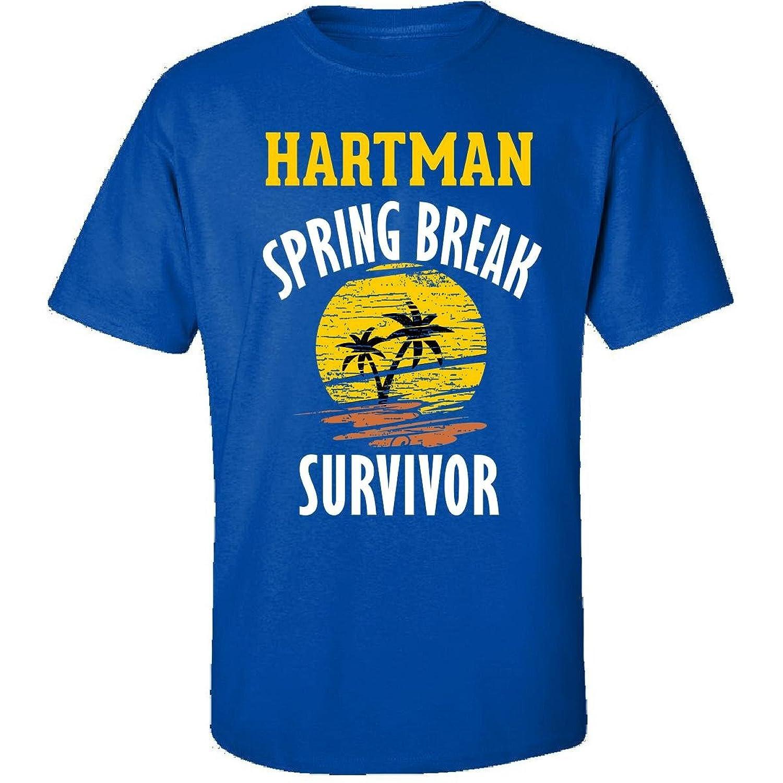Hartman Spring Break Survivor Party Beach Drinking - Adult Shirt