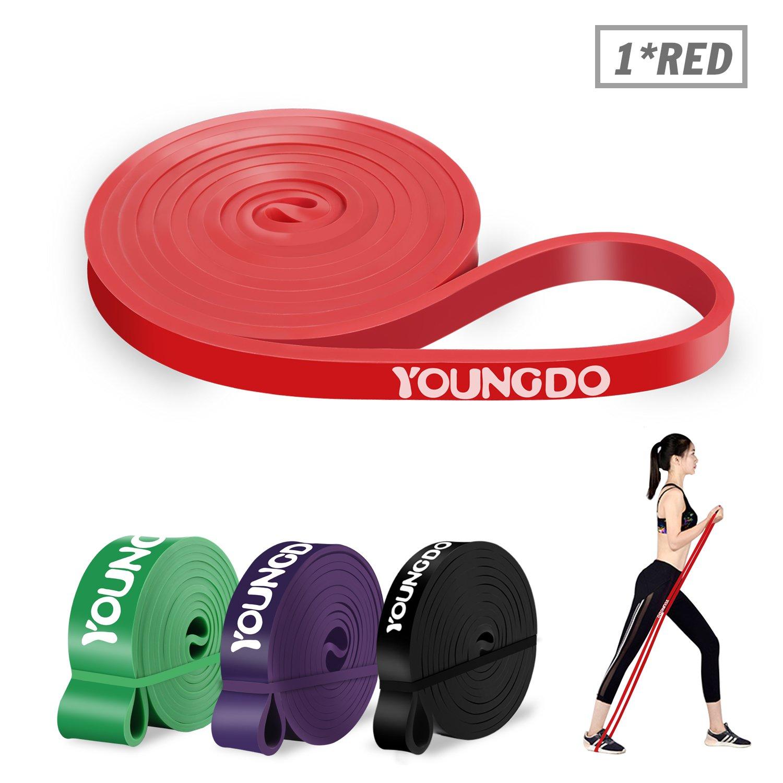 YOUNGDO Elastique Sport, Elastique de Sport Musculation, Bande de Résistance  Exercer Musculation, Faire 1c1f1b0fe37