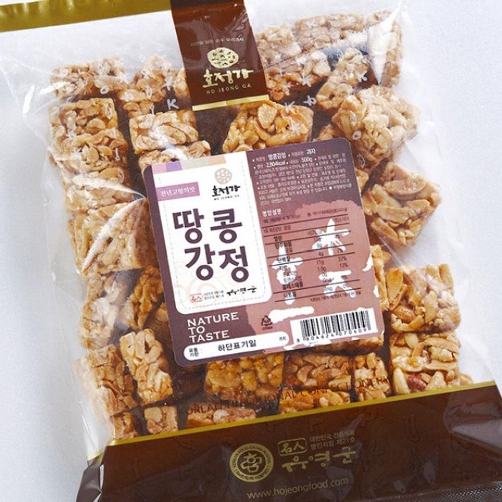 Changpyeong Peanut Crunch Snack 500g