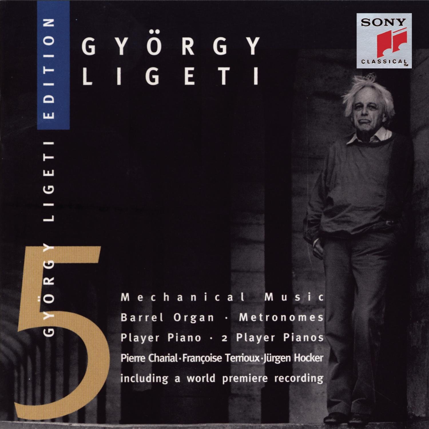 Mechanical Music by Gyorgy Ligeti: Amazon.co.uk: Music