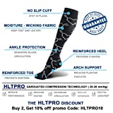 HLTPRO 20-30 mmHg Compression Socks Women - Mens