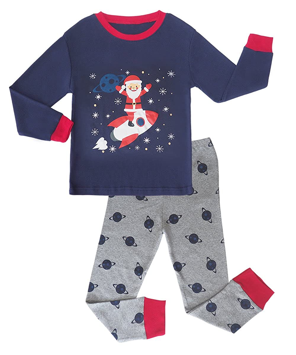 MAI CHUS Toddler Boys 2 Piece Pajama Set Cotton Top Pants children Dinosaur Sleepwear PJS AM709-40K
