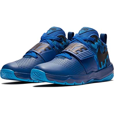 hot sale online e5328 8d975 Nike Kids  Team Hustle D 8 (Gs) Basketball Shoe (7 M US