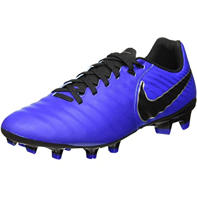 Nike Men's Soccer Tiempo Legend VII Academy Firm Ground Cleats (6.5 D US) Blue | Soccer