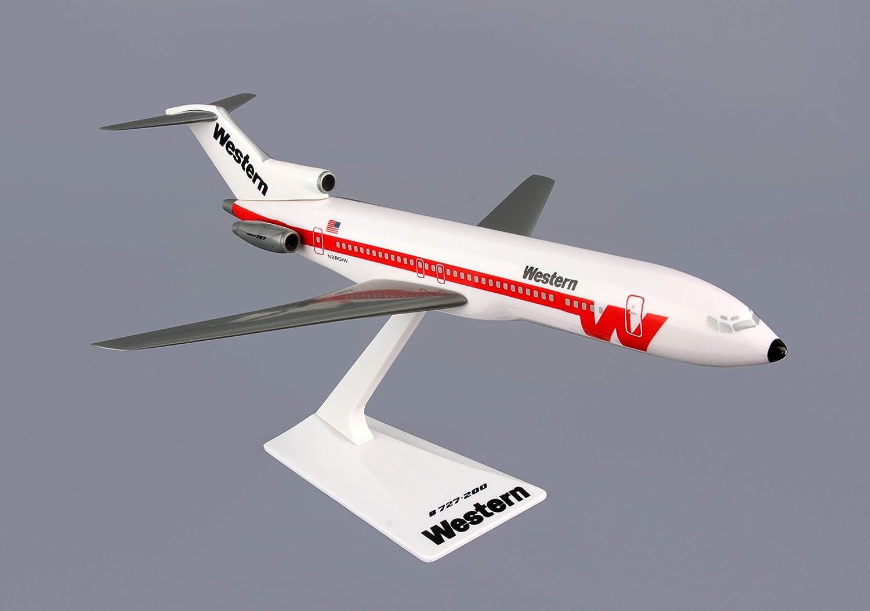 Reducción de precio Daron LP1048 B727-200 Western Airlines - Blanco