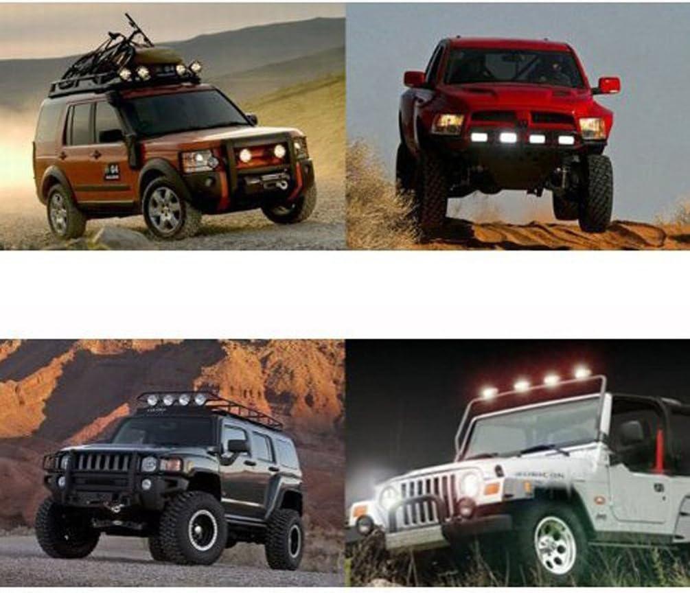 Annisking 10x27w Spot Beam 30 Degree LED Work Light Fog Light Jeep SUV ATV Off-road Truck