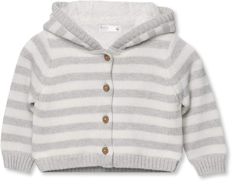 M/&Co Baby Striped Fleece Cardigan