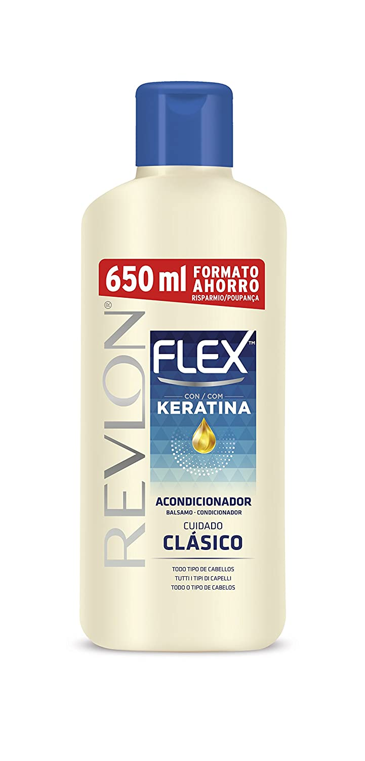 FLEX - FLEX KERATIN conditioner all hair types 650 ml-unisex Revlon 8411126033858