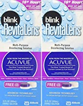 Blink RevitaLens Multipurpose Disinfecting Solution 2 x 10oz Bottles