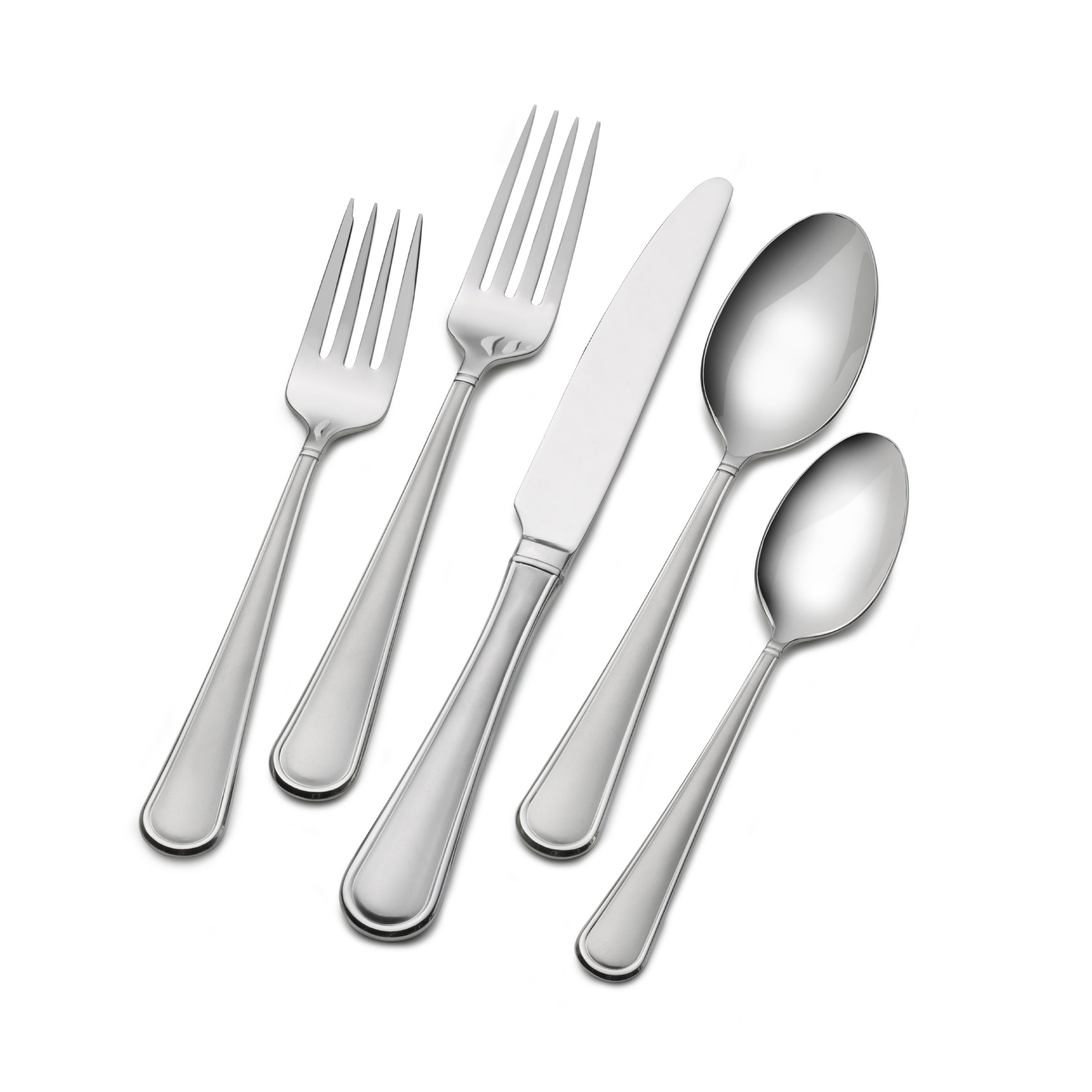 Mikasa Virtuoso Frost 65-Piece  Stainless Steel Flatware Set, Service for 12 by Mikasa