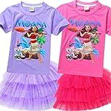SCHWARZWALD Girls' Moana Set-Short Sleeve T-Shirt and Skirt
